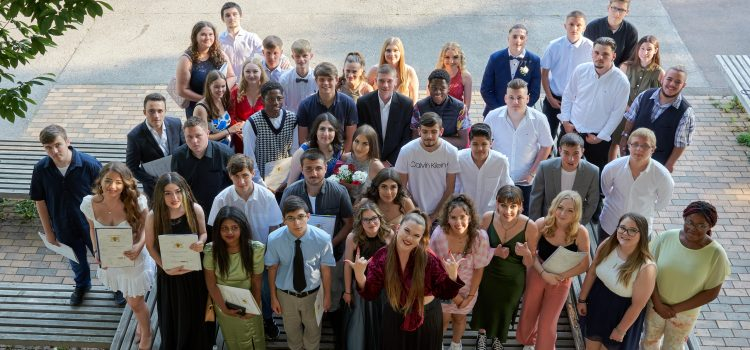 Abschlussfeier der Klassen 9a, 10b und 10c