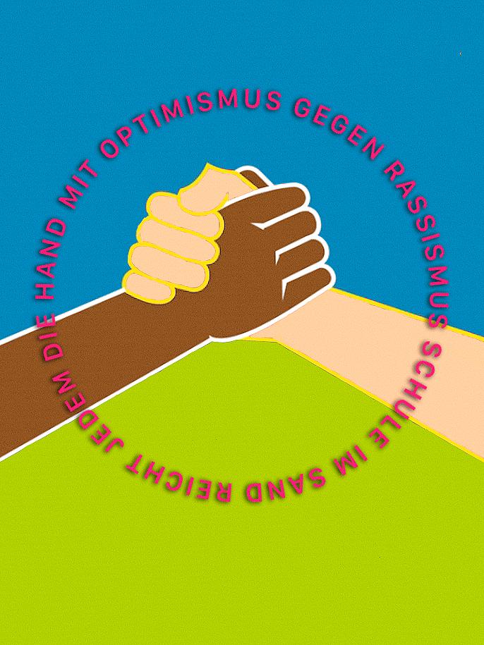 Mit Optimismus<br> gegen Rassismus